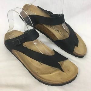 Betula Birkenstock Mia Toe Loop Sandals 40
